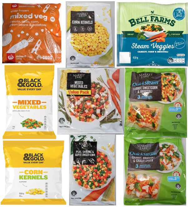 هشدار در خصوص مصرف سبزیجات یخ زده