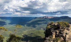 حال و هوای پاییزی کوهستان آبی (بلو مانتین) در غرب سیدنی
