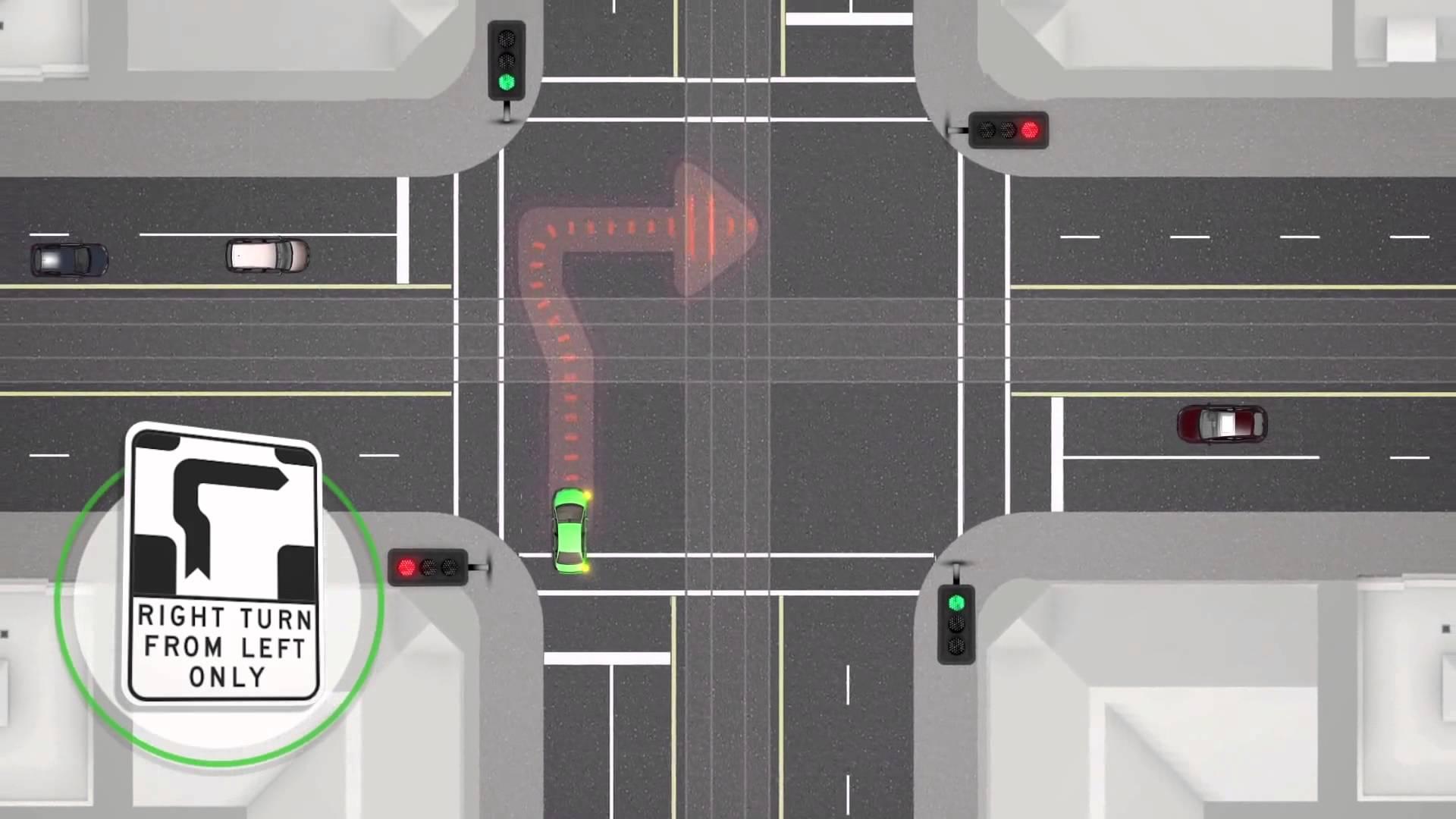 نکته آموزشی کاربردی برای رانندگی در مرکز ملبورن