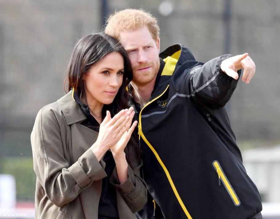 شاهزاده هری همراه نامزدش به استرالیا آمده اند