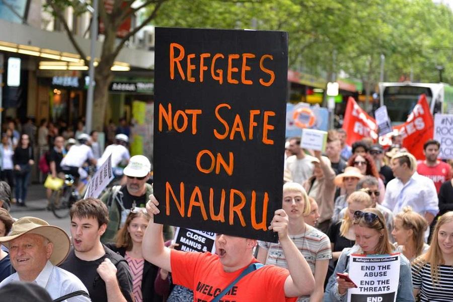 استرالیایی ها در حمایت از پناهجویان تظاهرات کردند
