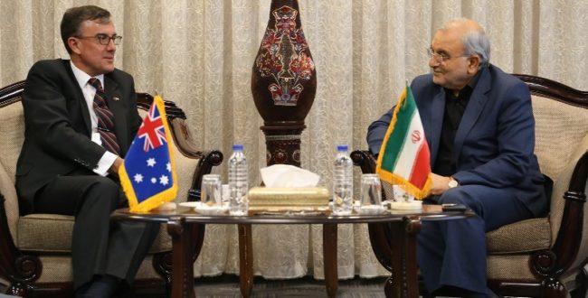 سفیر استرالیا: به دنبال توسعه روابط با ایران هستیم