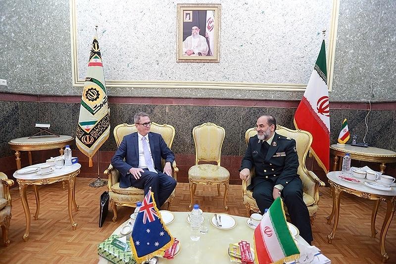 افزایش همکاری پلیس ایران واسترالیا