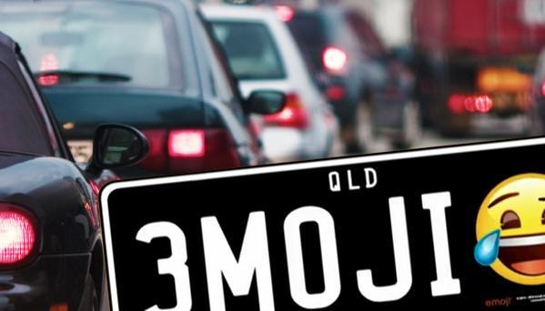 پلاکهای جدید خودرو در استرالیا با طرح ایموجی