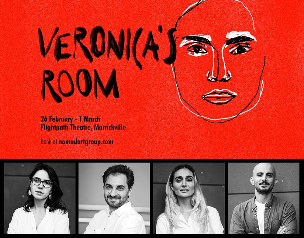 """اجرای تئاتر """"اتاق ورونیکا"""" توسط گروهی از هنرمندان سیدنی"""