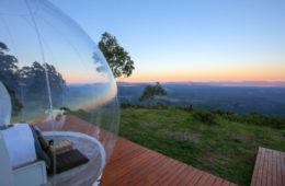 اتاقک های حبابی، آسمان استرالیا در آغوش شما
